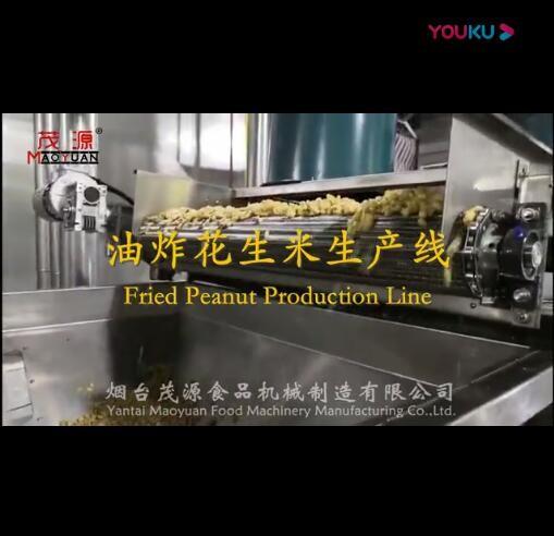 油炸花生米生产线